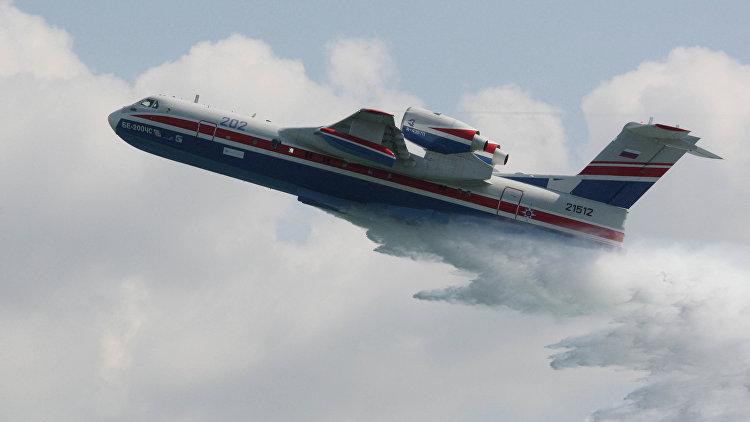 Россия может заключить первый контракт на поставку Бе-200ЧС с Индонезией