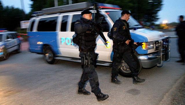 Сотрудники шведской полиции. Архивное фото