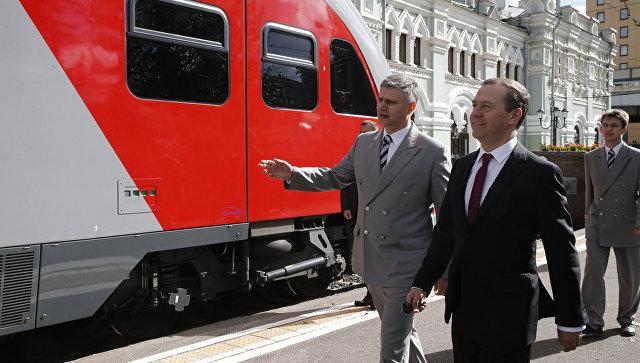 Государство будет направлять инвестиции наразвитие железных дорог— Медведев