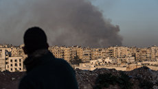Ситуация в сирийском городе. Архивное фото