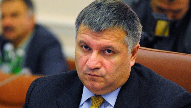 Министр внутренних дел Арсен Аваков. Архивное фото