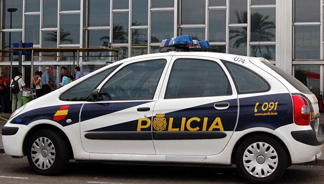 Автомобиль испанской полиции. Архивное фото