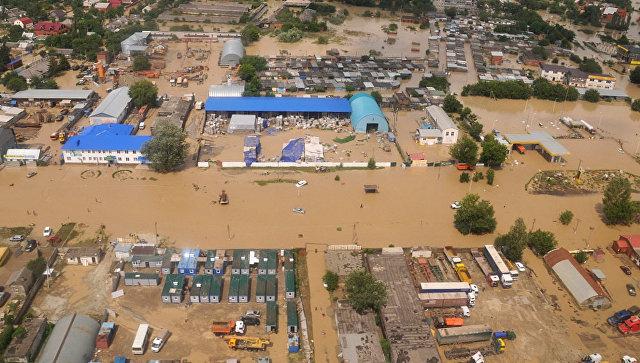 Последствия наводнения в Краснодарском крае, 2012 год