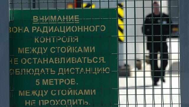 Работа Смоленского таможенного поста ФТС России. Архивное фото