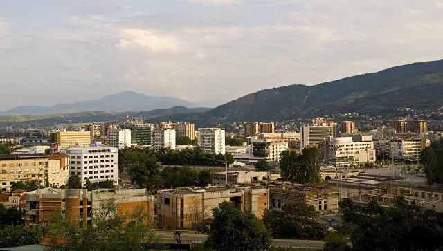 Вид на Скопье. Архивное фото