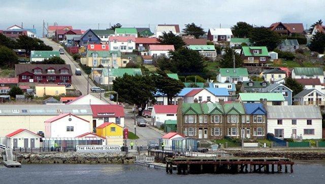 Вид на Фолклендские острова