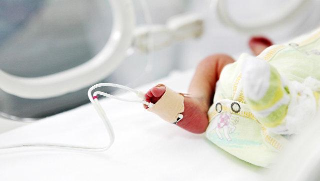 Новорожденный. Архивное фото