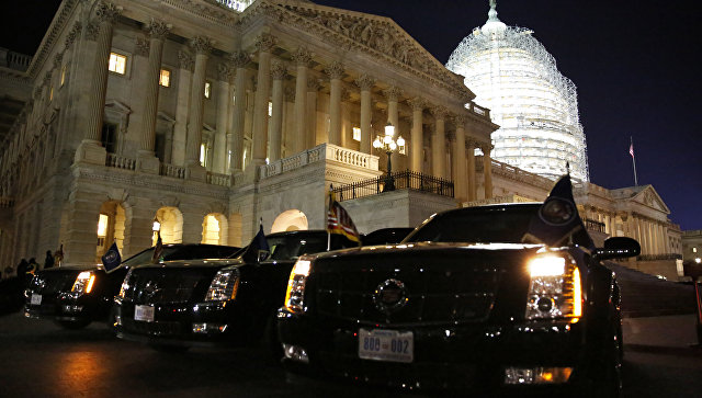 Здание Конгресса США (Капитолий) в Вашингтоне. Архивное фото
