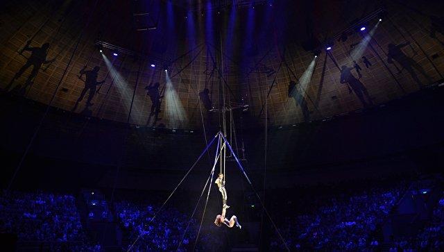Российская цирковая гимнастка сорвалась свысоты нагастролях вШвейцарии