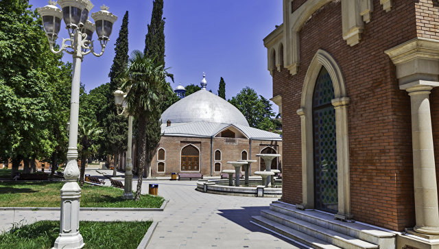 Город Гянджа в Азербайджане. Архивное фото