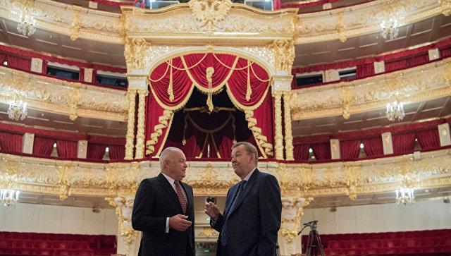 Подписание договора об информационном сотрудничестве Большого театра и МИА Россия сегодня