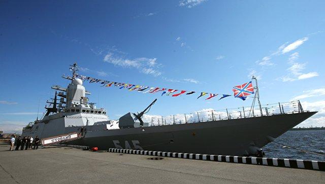 Калининградцы приняли заНЛО свет авиабомб-мишеней при стрельбах корвета наБалтике