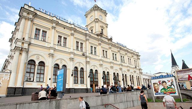 Ленинградский вокзал столицы. Архивное фото
