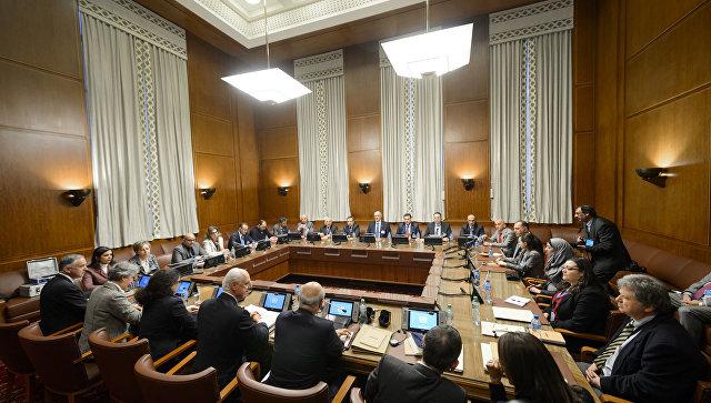 Переговоры по Сирии в Женеве. Архивное фото