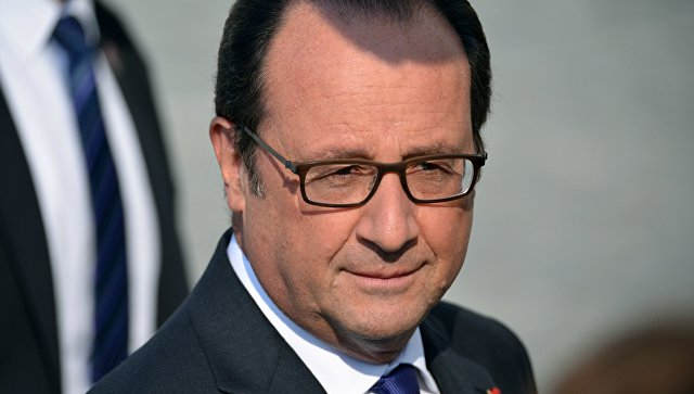 Президент Франции Франсуа Олланд во время встречи глав стран ЕС в Братиславе. 16 сентября 2016