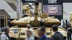 Танк Т-90МС на международном военно-техническом форуме Армия-2016