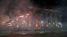 Нападение на российское посольство в Киеве