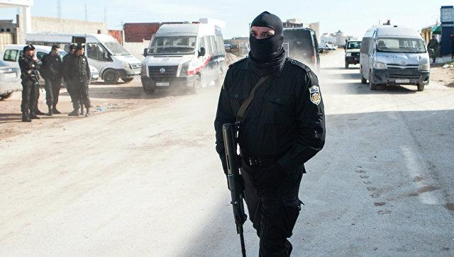 Сотрудник антитеррористической полиции Туниса. Архивное фото