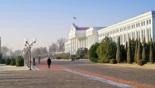 Административное здание Сената в Ташкенте. Архивное фото