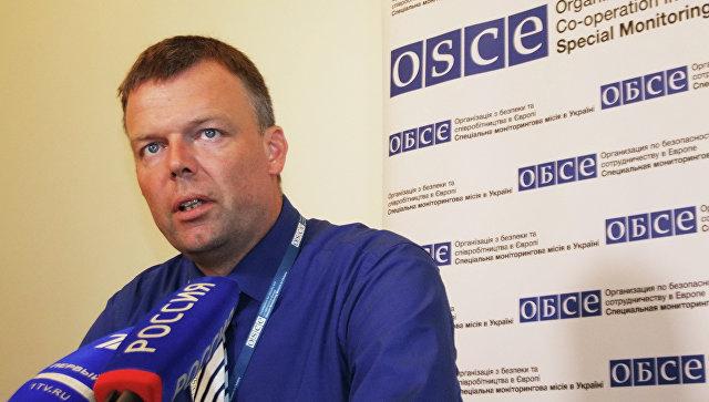 В Донбассе около станции Ясиноватая подстрелили беспилотник ОБСЕ
