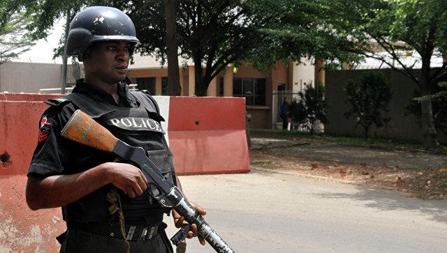 Полицейский, Нигерия. Архивное фото