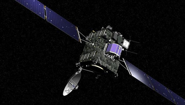 Зонд Розетта с посадочным модулем Фила