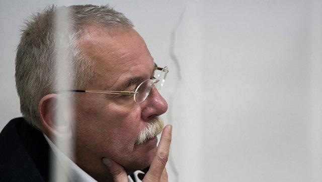 Заседание суда по делу экс-главы Карелии Андрея Нелидова