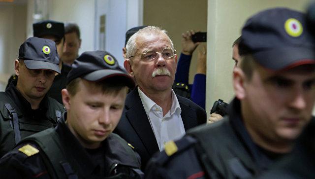 Заседание суда по делу экс-главы Карелии Андрея Нелидова. Архивное фото