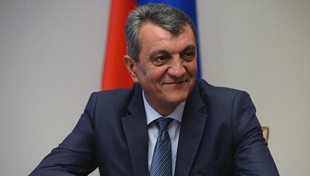 Полномочный представитель президента в СФО Сергей Меняйло. Архивное фото