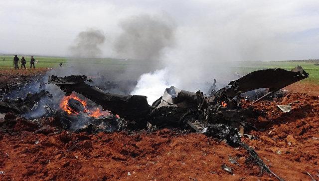 Самолет сирийских ВВС сбит врайоне Эль-Каламун