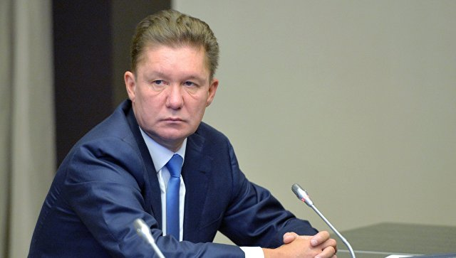 Миллер поведал  оновых рекордах «Газпрома» поэкспорту газа вЕвропу
