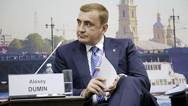 Дюмин вступил вдолжность губернатора Тульской области