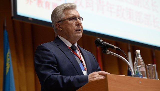 Вице-губернатор Алтайского края Юрий Денисов. Архивное фото