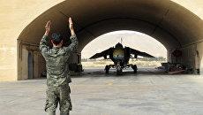 Истребитель ВВС Сирии на военном аэродроме в 50 км к северо-востоку от Дамаска. Архивное фото