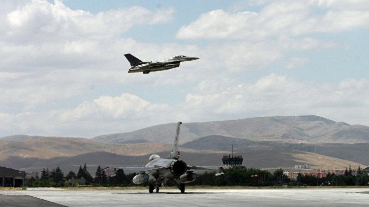 Генштаб Турции: ВВС Греции были подняты на перехват турецких F-16