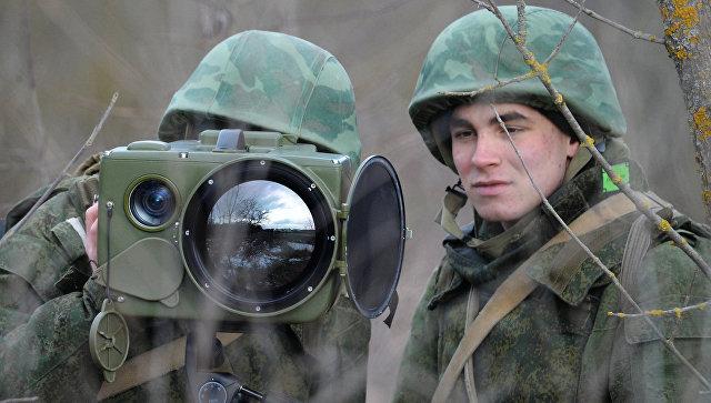Учения бригады специального назначения ЮВО. Архивное фото