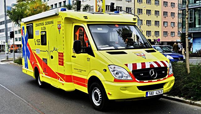 Карета скорой помощи в Чехии. Архивное фото
