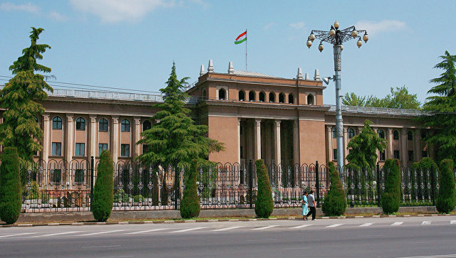 Президентский дворец в Душанбе. Архивное фото
