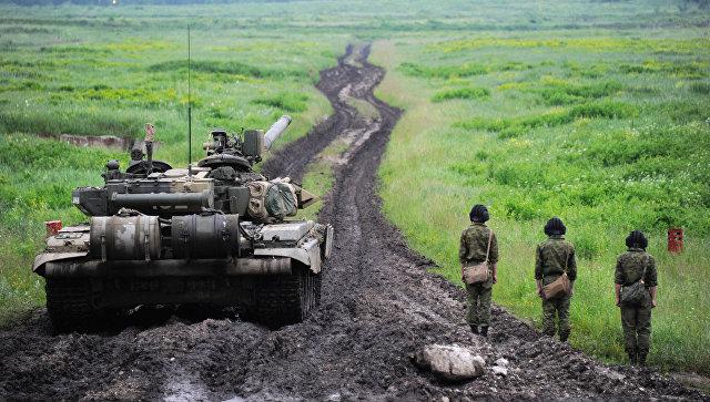 ВЧелябинской области прошли учения танковых войск