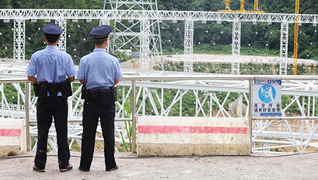 Полиция в Китае. Архивное фото