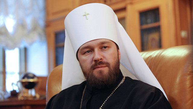 Интервью председателя ОВЦС МП митрополита Илариона