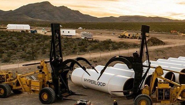 Разработки компании Hyperloop TechnologiesТруба компании Hyperloop Technologies