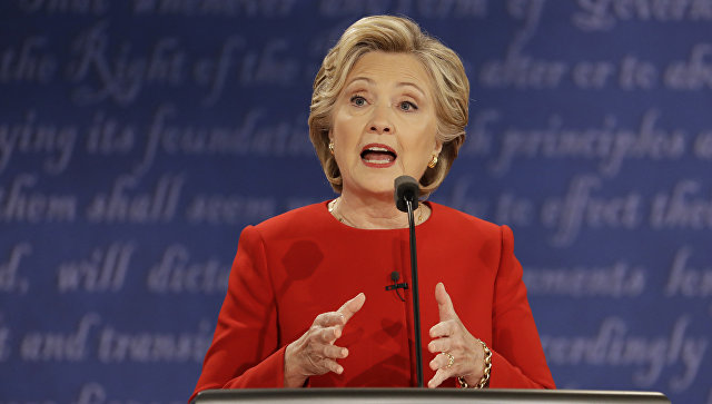 Кандидат в президенты США от Демократической партии Хиллари Клинтон. 27 сентября 2016 год