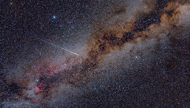 Метеорит вызвал яркую вспышку внебе над Австралией