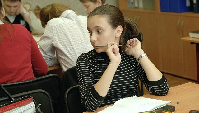 Занятия в школе. Архивное фото