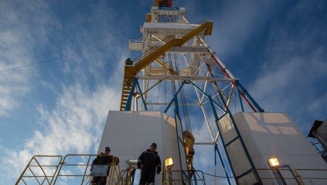 Разработка газового месторождения. Архивное фото