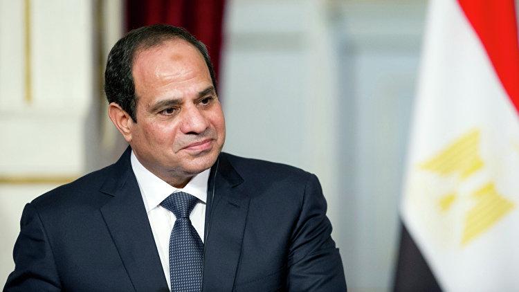 Президент Египта Абдель Фаттах ас-Сиси. Архивное фото