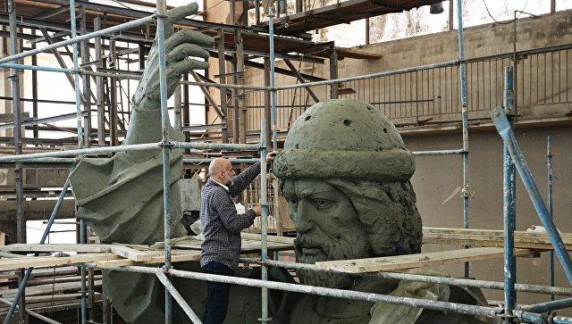 Монтаж монумента правителю Владимиру в российской столице начнется 15октября