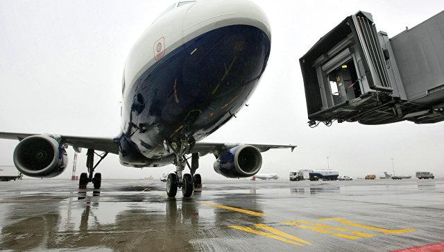 Самолет «Аэрофлота» приземлился вКрасноярске из-за дебошира наборту