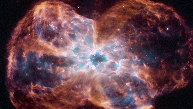 Гибель звезды похожей на солнце, снятая орбитальным телескопом Хаббл